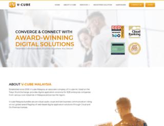 my.vcube.com screenshot