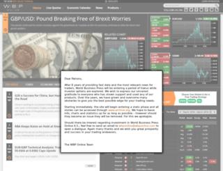 my.wbponline.com screenshot