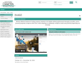 my.wdt.edu screenshot