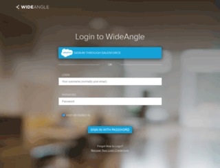 my.wideangle.com screenshot
