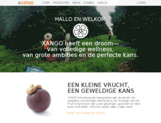 my.xango.nl screenshot