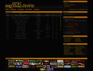 my1x2.info screenshot