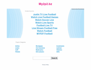 my2p2.bz screenshot