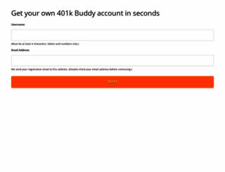 my401k.co screenshot