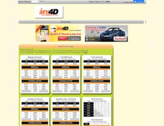 my4dresult.com screenshot