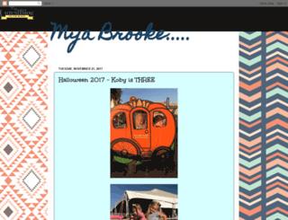 myabrooke2.blogspot.com screenshot