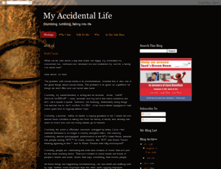 myaccidentallife.blogspot.com screenshot