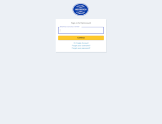 myaccount.electricinsurance.com screenshot