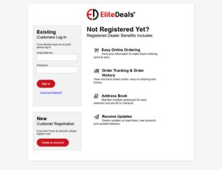 myaccount.elitedeals.com screenshot