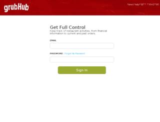 myaccount.grubhub.com screenshot