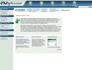 myaccount.morrisbb.net screenshot