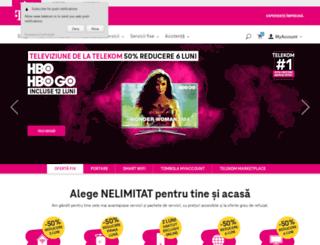 myaccount.telekom.ro screenshot