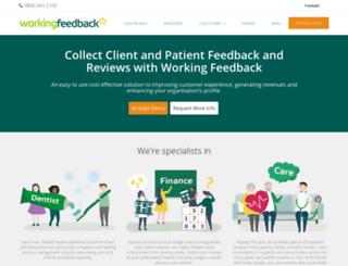 myaccount.workingfeedback.co.uk screenshot