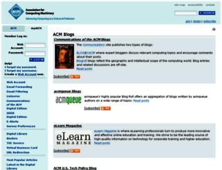 myacm.acm.org screenshot
