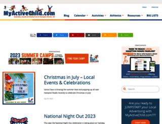 myactivechild.com screenshot