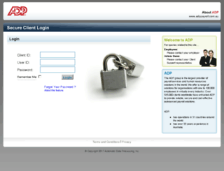 myadppayroll.com.au screenshot