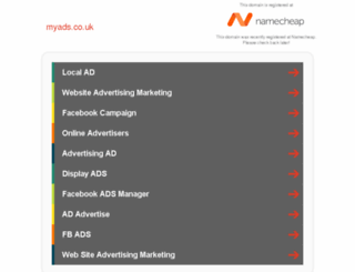 myads.co.uk screenshot