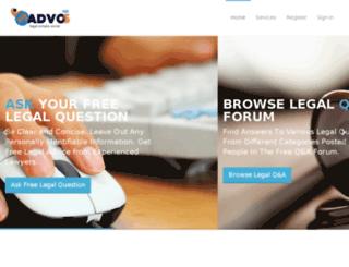 myadvos.com screenshot