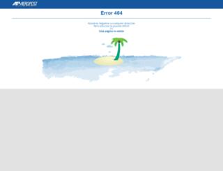 myaeropost.com screenshot