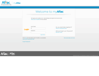 myaflac.com screenshot