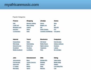 myafricanmusic.com screenshot