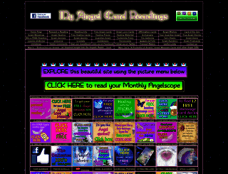 myangelcardreadings.com screenshot