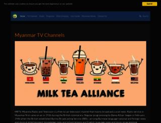 myanmartvchannel.com screenshot