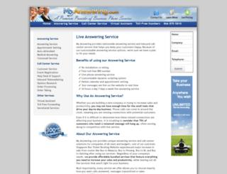 myanswering.com screenshot
