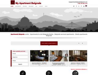 myapartmentbelgrade.com screenshot