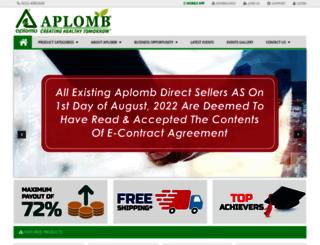 myaplomb.com screenshot