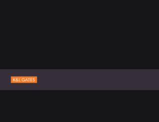 myappsau.klgates.com screenshot