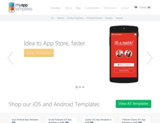 myapptemplates.com screenshot