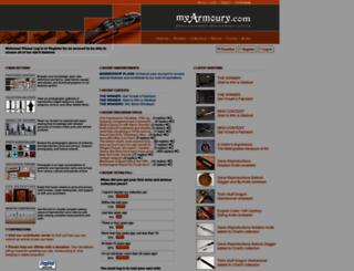 myarmoury.com screenshot