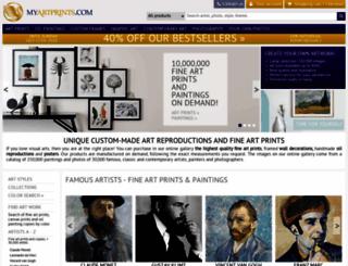 myartprints.com screenshot