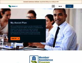 myassistplan.com screenshot