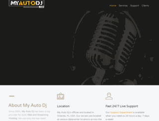 myautodj.com screenshot