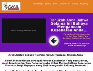 myavail-network.com screenshot