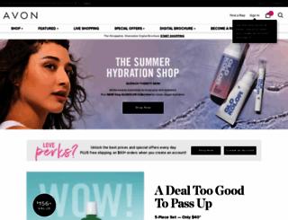 myavon.com screenshot