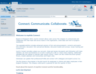 myaxisconnect.cox.com screenshot