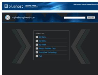 mybabymyheart.com screenshot