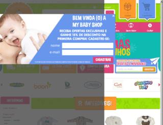 mybabyshop.com.br screenshot