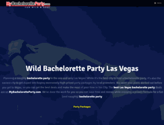 mybacheloretteparty.com screenshot