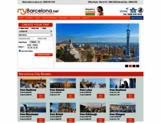mybarcelona.net screenshot