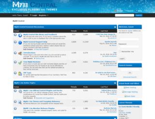 mybbcentral.com screenshot