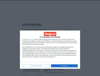 mybeautybag.blogg.se screenshot