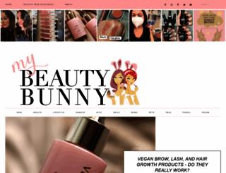 mybeautybunny.com screenshot