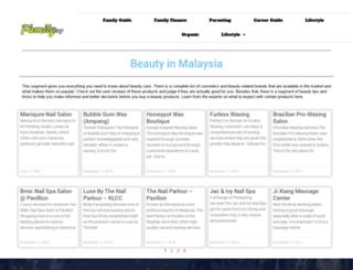 mybeautyherbs.com.my screenshot