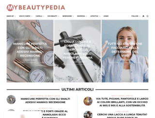 mybeautypedia.it screenshot