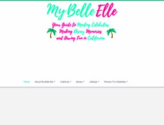 mybelleelle.com screenshot