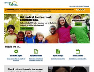mybenefitscalwin.org screenshot